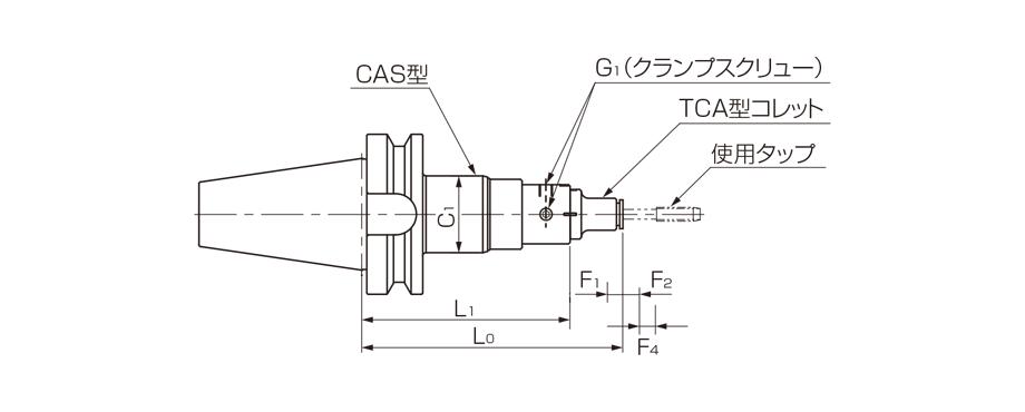Model BT-CAS