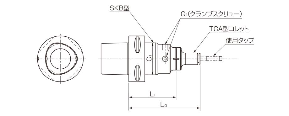 Model C-SKB