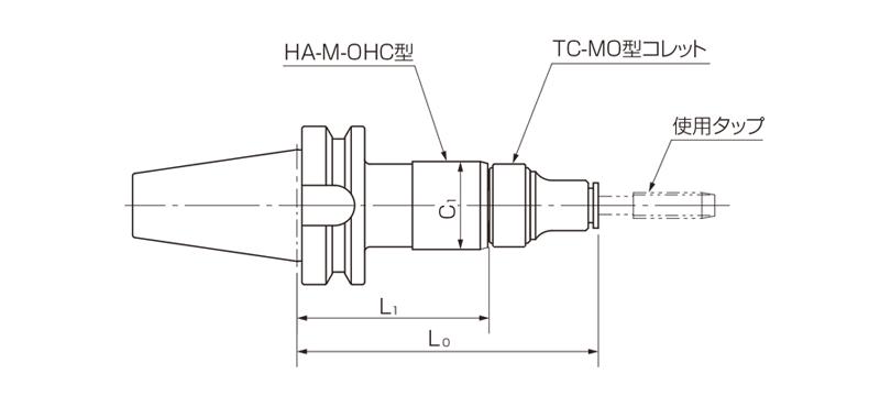 Model DBT-HA-M-OHC