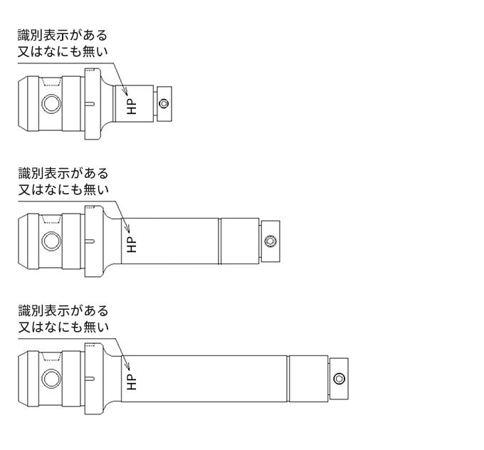 図-2 TCA型シーリズ共通の未対策品