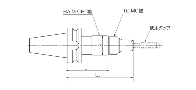 DBT-HA-M-OHC型