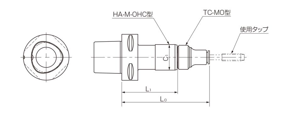 C-HA-M-OHC型